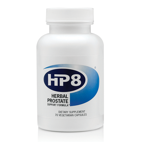 Naturally support prostate health with HP8 by American Biosciences.