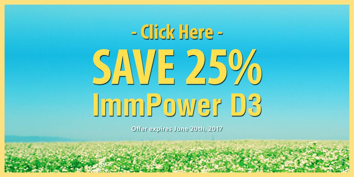 ImmPowerD3 Sale