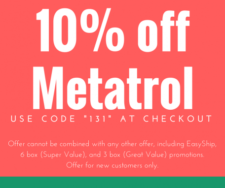 10% off Metatrol with code 131