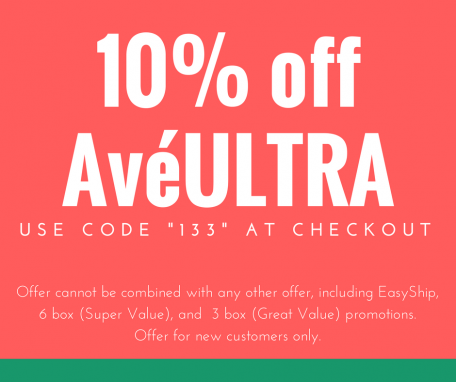 10% off AveULTRA with code 133