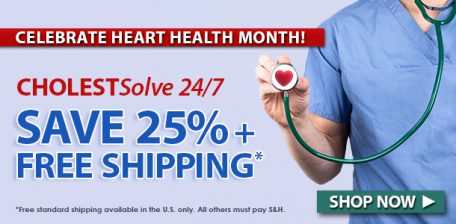 Save 25% on CHOLESTSolve 24/7