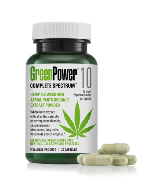 greenpower 10 no capsules as of 4.24.19