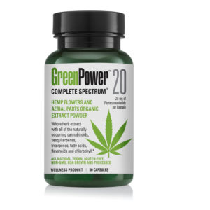 greenpower 20 bottle no capsules as of 4.24.19